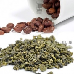 Coffee Flavor Green Tea,Early Spring Biluochun,Reduce weight tea,CTX616
