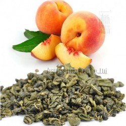 Peach Flavor Green Tea,Early Spring Biluochun,Reduce weight tea,CTX601