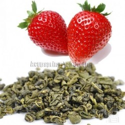 Strawberry Flavor Green Tea,Early Spring Biluochun,Reduce weight tea,CTX607